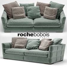 2 seater avant sofa by roche bobois 3d model cgtrader