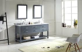 Virtu Bathroom Vanity by Virtu Usa Md 2272 Wmsq Gr Transitional 72 Inch Double Sink
