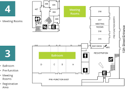 tacoma convention center floor plans and capacities