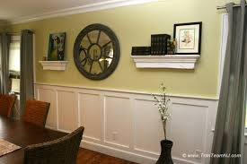 Dining Room Panels Dining Room Wainscoting Ideas From Wainscoting - Wainscoting dining room