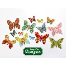 katy sue designs mini butterflies silicone mould tools