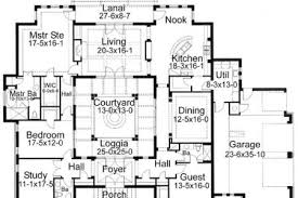 Floor Plans With Courtyard Collections Of Spanish Homes With Central Courtyard Free Home