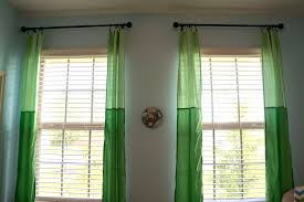 Green Curtains For Nursery Baby Room Curtains
