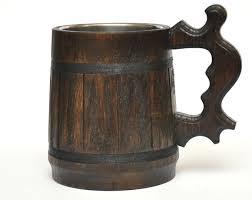 Wooden Groomsmen Gifts Personalized Wooden Beer Mug Groomsmen Gift Beer Tankard
