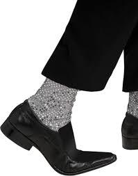 michael jackson sequin sparkle socks mens halloween costume