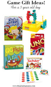 the ultimate list of gift ideas for a 5 year boy gifts