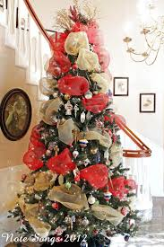 christmas mesh ribbon best 25 christmas tree with mesh ideas on
