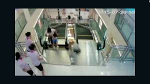 elevator death man watches wife die in china escalator accident cnn video