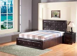 4ft Ottoman Storage Beds by Wooden King Size Storage Bed U2014 Modern Storage Twin Bed Design