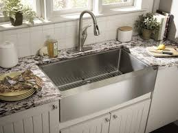 discount kitchen sinks and faucets sink faucet the apron front kitchen sink features with granite