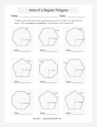 area of polygons worksheets free worksheets library download and