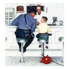 runaway september 20 1958 giclee print by norman rockwell at
