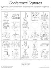 conference coloring activity lds lesson ideas