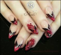 luminous nails february 2013 nails tips pinterest red