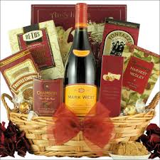 wine gift baskets west pinot noir wine gift basket item wmwpn