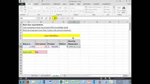 Loan Spreadsheet Part 1 How To Plan And Construct An Excel Spreadsheet Useful