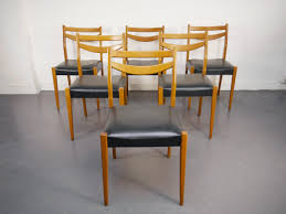 bureau retro ulma chaises vintage scandinave lilipop