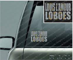 gold glitter car louis l u0027amour loboes car decal with glitter vinyl 031 u2013 designs