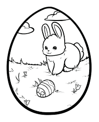 printable bunny template egg coloring pages sheets ears