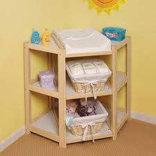 Diapers Changing Table Badger Basket Cherry Corner Changing Table Brown Diapers