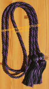 graduation cord purple and black braided graduation honor cords from graduation product