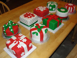 mini christmas cake decorating ideas party ideas pinterest