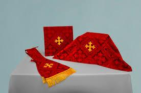 chalice veil custom burse chalice veil maniple set the house of hansen