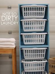 Laundry Room Basket Storage Laundry Room Basket Storage Ideas Design And Ideas