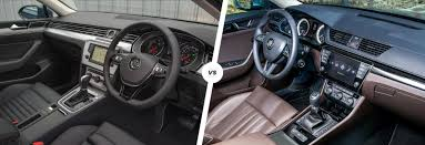 volkswagen phideon interior vw passat vs skoda superb compared carwow