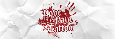 love is pain tattoo tattoos by julian greif