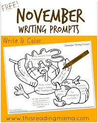 free november writing prompts