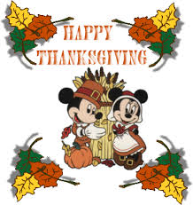 animated gif of disney thanksgiving day and free images gifmania