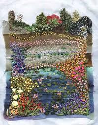 silk ribbon embroidery silk ribbon embroidery for monets garden