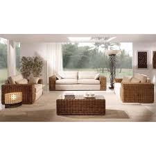 modèle canapé canapé en rotin pour le salon modèle carneig achat vente