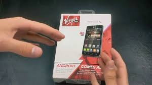 lg optimus f3 unboxing virgin mobile youtube