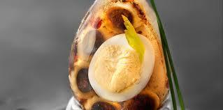 comment cuisiner le celeri œuf de caille et penne à la tapenade en gelée de céleri facile et
