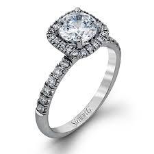 simon g engagement rings mr2132 18k white gold engagement ring from simon g gold