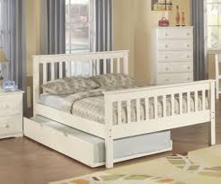 Full Bed With Trundle Donco Trading Monaco Full Size Bed With Trundle And Double Bed