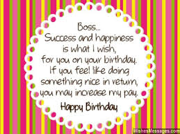 birthday wishes for boss quotes and messages u2013 wishesmessages com
