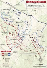 Fort Wilderness Map 94 Best Gettysburg Battlefield Maps July 1 2 3 1863 Images On