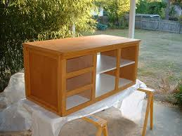 Cabinet Assembly Workbench Tool Storage Cabinet Of Alder