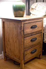 reclaimed wood night stand do it yourself home projects from ana