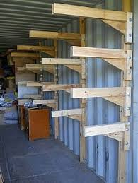 Wooden Storage Shelf Designs by Best 25 Outside Storage Units Ideas On Pinterest Garage Storage