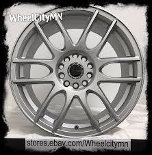 nissan altima 2015 lug pattern 17 inch silver raceline 141wheels fits nissan altima sentra maxima