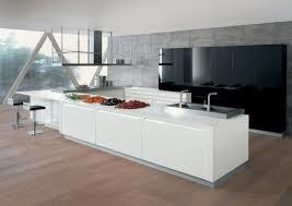 Plan De Travail Central Cuisine Ikea by Indogate Com Armoires De Cuisine Moderne Idees Blanc