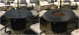 Tropitone Fire Pit by What U0027s New In Fire Pits Entertaining Design
