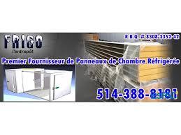frigo pour chambre panneaux d uréthane pour chambre froide à vendre à granby lespac