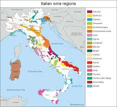 Brindisi Italy Map by Italy Map Of Vineyards Wine Regions