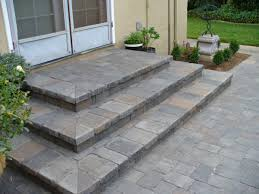 Paver Patios Installed In The How To Create A Paver Patio With Steps Google Search Home