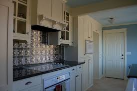 Elegant Kitchen Style Ideas With Silver Metallaire Backsplash Tin - Metal kitchen backsplash